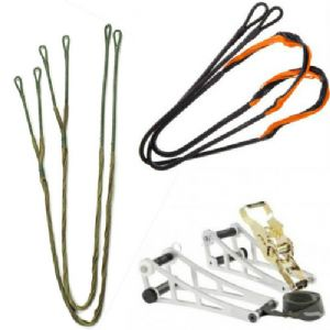 Compound Crossbow Re Stringing Kit 1 x String 2 x Cable & Ratchett Bow Press